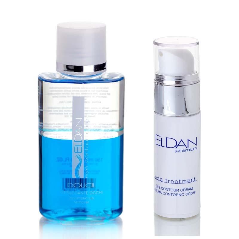 Набор Крем для глазного контура ECTA 40+ 30 мл + Средство для снятия макияжа с глаз 150 мл
