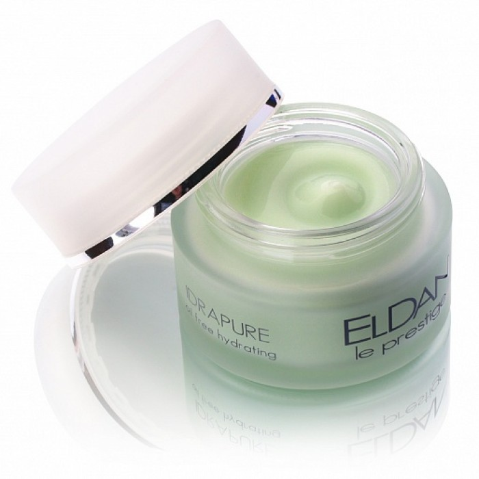 Очищающий крем для проблемной кожи, Idrapure oil free hydrating Eldan cosmetics, 50 мл