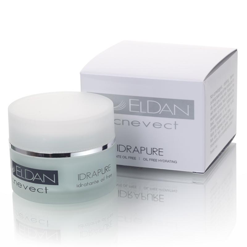 Очищающий крем для проблемной кожи Idrapure oil free hydrating Eldan cosmetics 50 мл