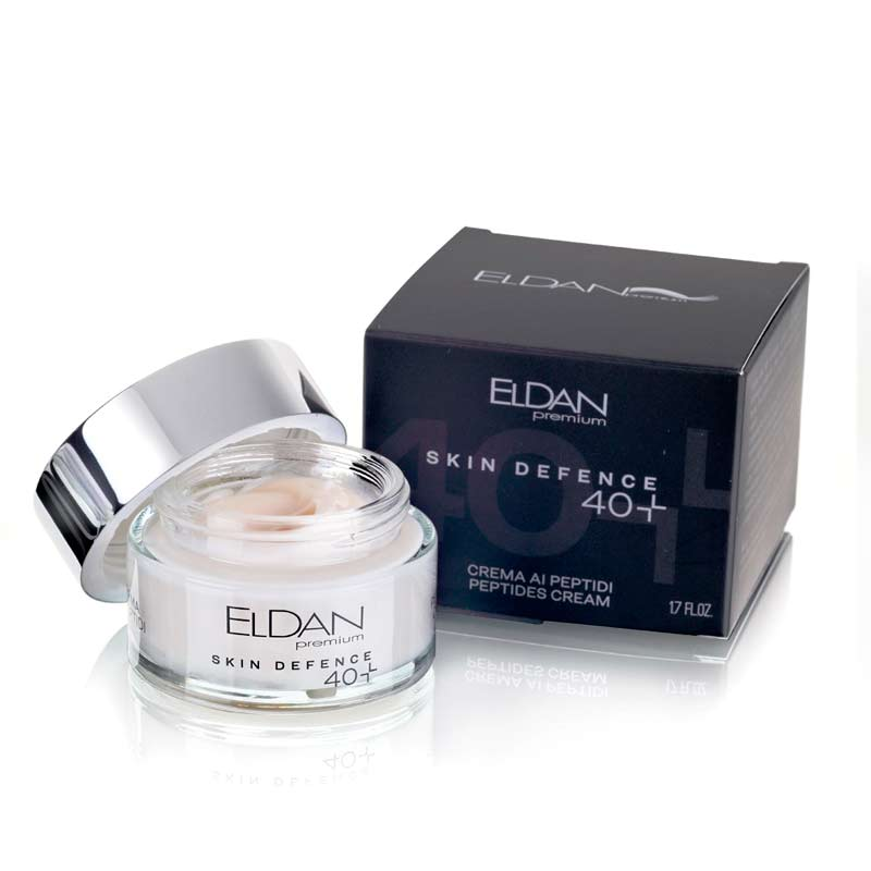 Пептидный крем 40+ Premium PEPTO SKIN DEFENCE Eldan cosmetics 50 мл