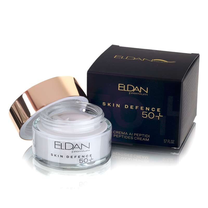 Пептидный крем 50+ Premium PEPTO SKIN DEFENCE Eldan cosmetics 50 мл