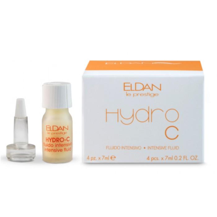 Гидро С интенсивная жидкость Hydro C intensive fluid Eldan cosmetics 4х7 мл