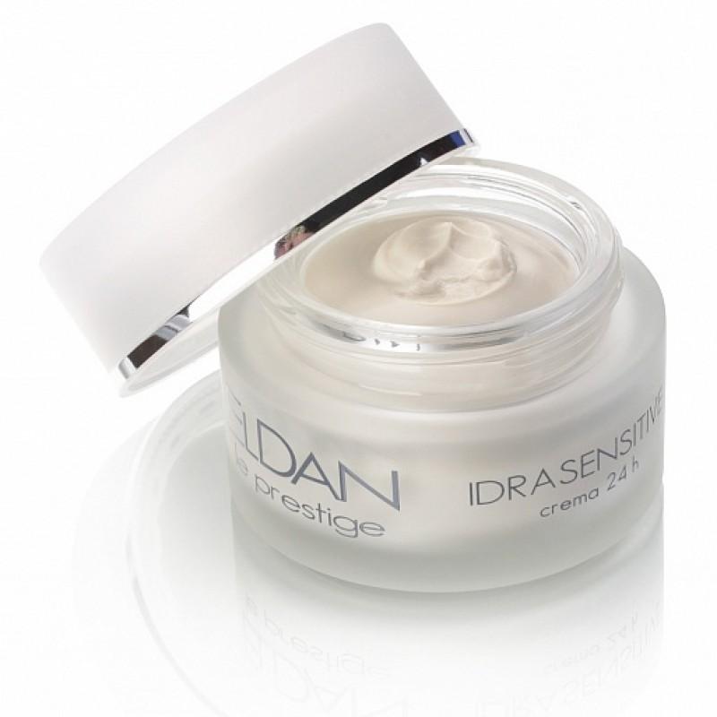 Увлажняющий крем 24 часа для чувствительной кожи, Idrasensitive 24 hour cream Eldan cosmetics 50 мл