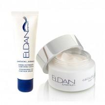 Набор Ночной крем + Крем для глазного контура Premium cellular shock Eldan 50 + 30 мл