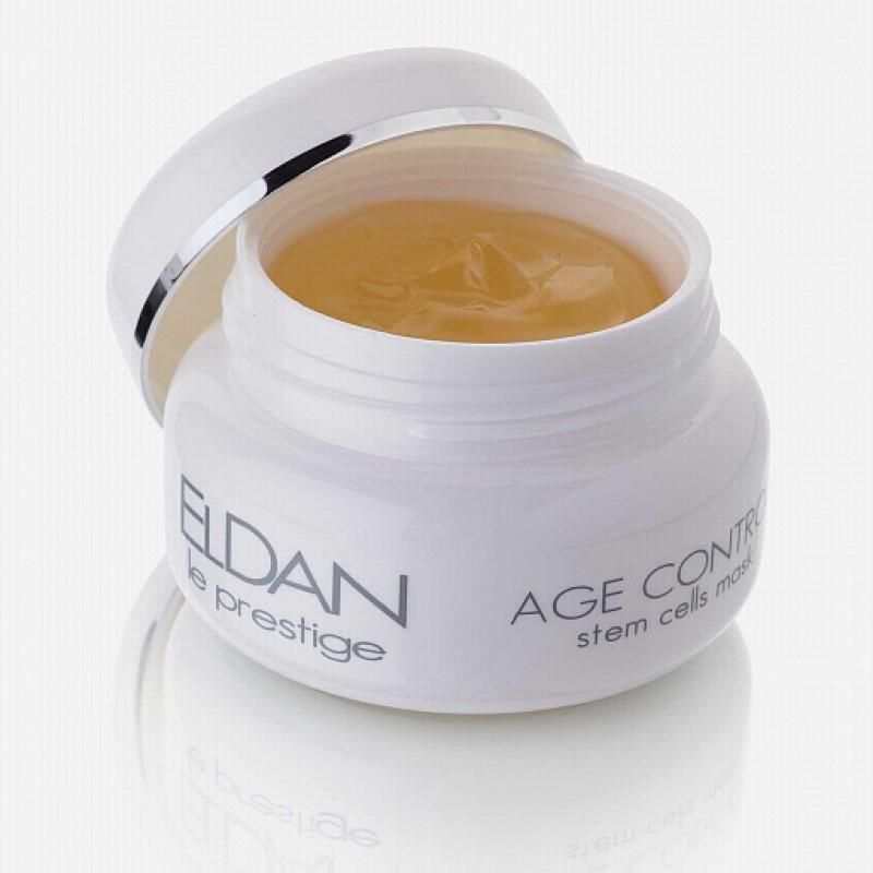 Антивозрастная гель-маска Клеточная терапия, Age control stem cells mask, Eldan cosmetics, 100 мл