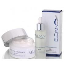 Набор Активный регенерирующий крем EGF + Активная регенерирующая сыворотка EGF Eldan 50 / 30 мл