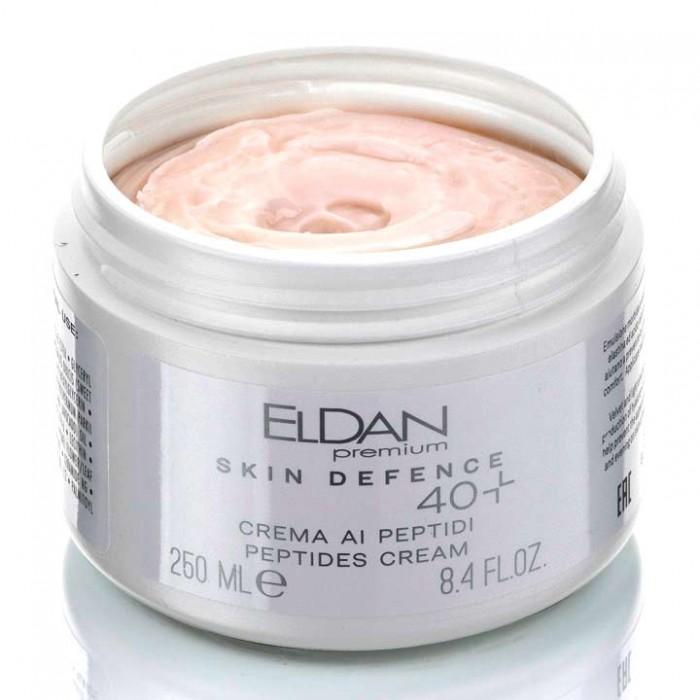 Пептидный крем 40+ Premium PEPTO SKIN DEFENCE Eldan cosmetics 250 мл