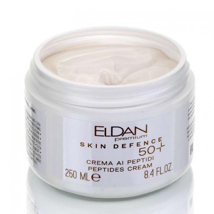 Пептидный крем 50+ Premium PEPTO SKIN DEFENCE Eldan cosmetics 250 мл