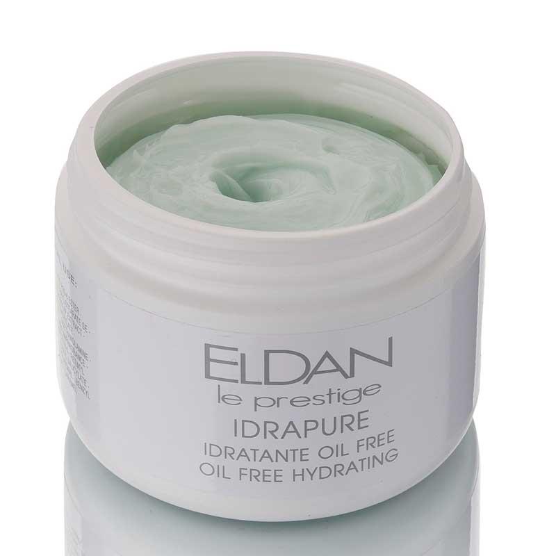 Очищающий крем для проблемной кожи Idrapure oil free hydrating Eldan cosmetics 250 мл