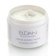 Питательный крем 24 часа с микросферами 24 hour cream Eldan cosmetics 250 мл