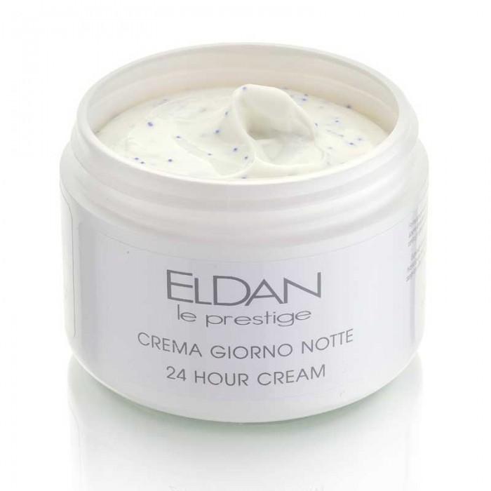 Питательный крем 24 часа с микросферами, 24 hour cream Eldan cosmetics, 250 мл