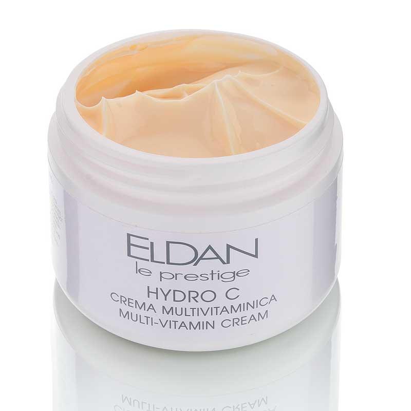 Мультивитаминный крем Гидро С Hydro C multi-vitamin cream Eldan cosmetics 250 мл