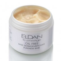 Увлажняющий крем-гель для жирной кожи Oil free pureness base Eldan cosmetics 250 мл