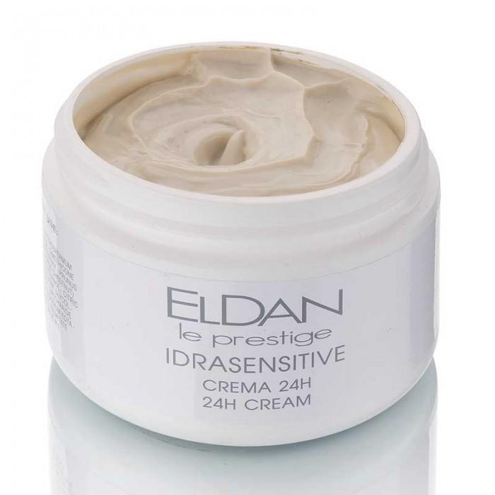 Увлажняющий крем 24 часа для чувствительной кожи Idrasensitive 24 hour cream Eldan cosmetics 250 мл