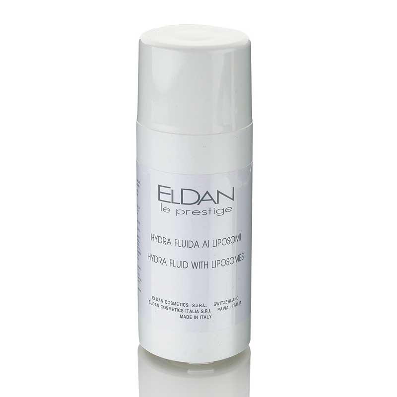 Увлажняющее средство с липосомами Hydra fluid with liposomes Eldan cosmetics 220 мл