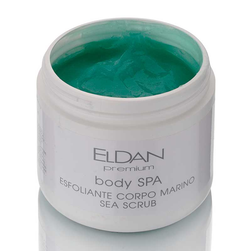 SPA-скраб для тела с морскими водорослями Eldan cosmetics 500 мл