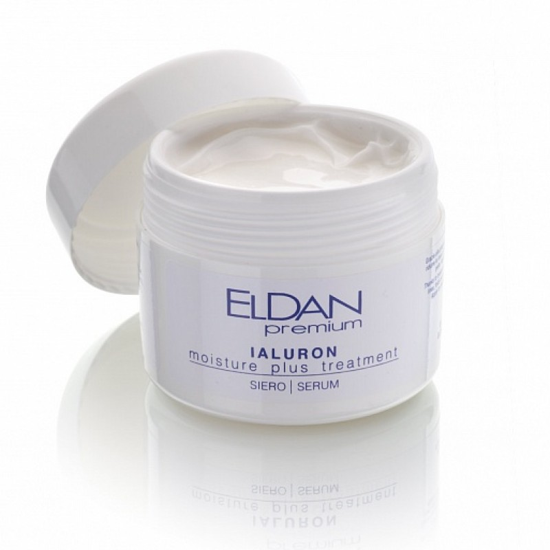 Сыворотка-флюид с гиалуроновой кислотой Ialuron serum Eldan cosmetics 100 мл